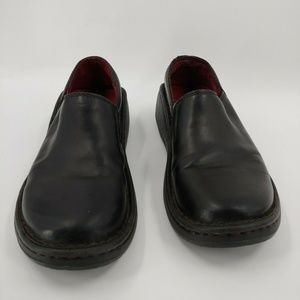 Chaco Zaagh Gunnison black leather clogs shoes 8